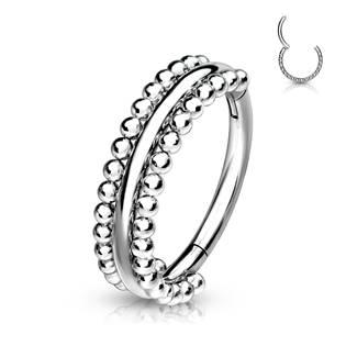 Segment kruh - helix / cartilage / tragus piercing