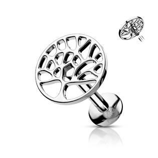 Labreta / piercing do ucha - strom života