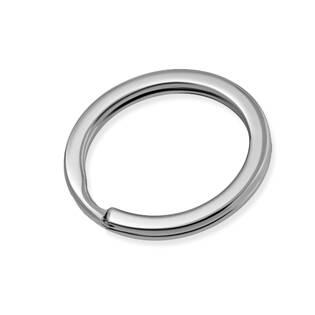 Ocelový kroužek na klíče, pr. 20 mm