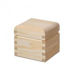 Dřevěná krabička s víčkem