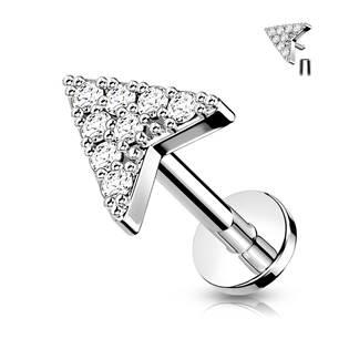 Labreta / cartilage piercing - šipka
