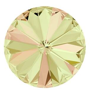 Crystals from Swarovski® RIVOLI 12 mm - LUMINOUS GREEN