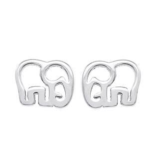 Ocelové náušnice sloni