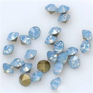 Skleněný šaton SS12 - 3,2 mm, 10ks/bal., Blue Opal