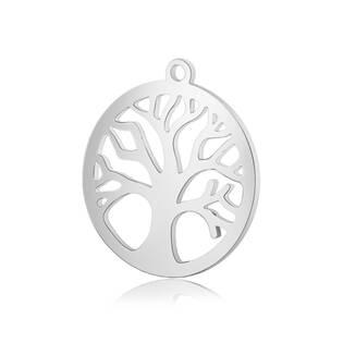Ocelový přívěšek - strom života